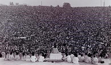 Mark Goff, a freelance reporter who covered Woodstock for