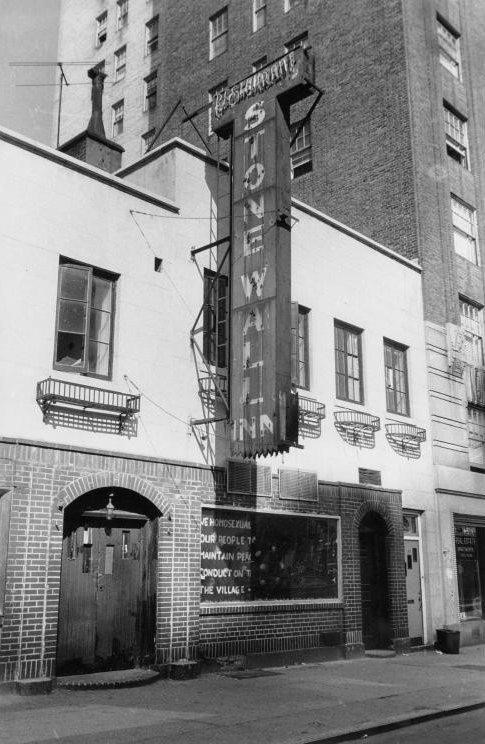 A photograph of the Stonewall Inn in 1969.