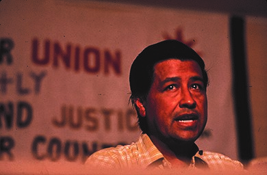 Cesar Chavez was influenced by the nonviolent philosophy of Indian nationalist Mahatma Gandhi. In 1968, he emulated Gandhi by going on a hunger strike.