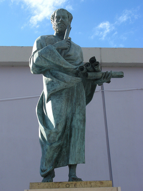 AristotleThis statue resides at Aristotle University of Thessaloniki, Greece.