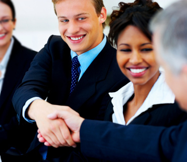 Meeting New PeopleIn many business cultures, networking involves meeting new people. A handshake is a common gesture.