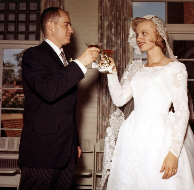 A wedding toastThe toasts that are given at a wedding are an example of special occasion speeches.