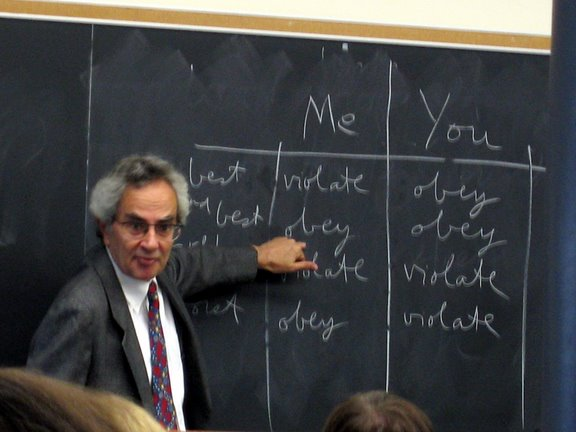 EthicsAmerican philosopher Thomas Nagel teaching an undergraduate course in ethics at New York University.
