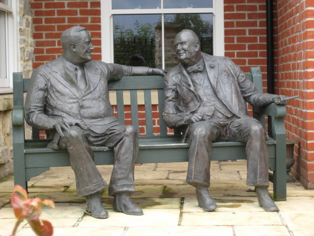 Roosevelt and Churchill in Conversation - Effective listening leads to better critical understanding.