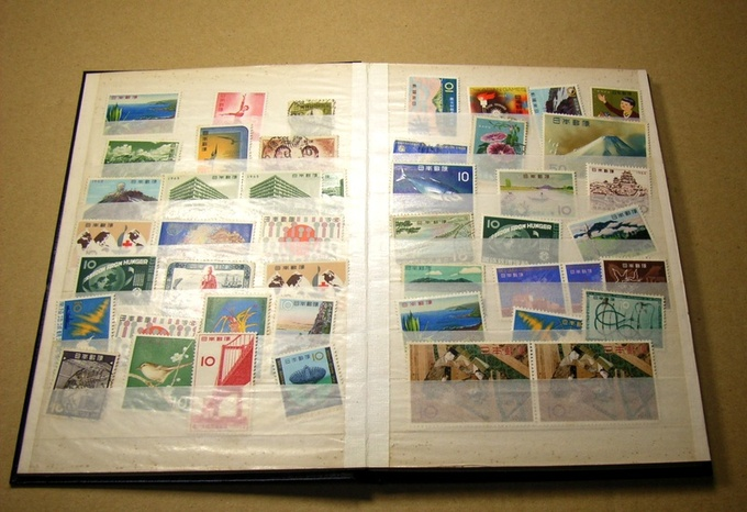 A Stamp Collection - Someone who has an interest in stamps might think about that as a speech topic.