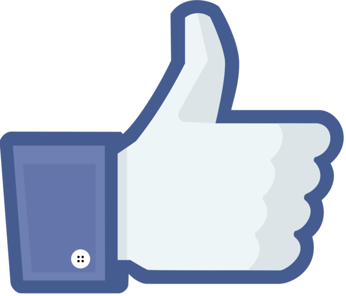 Facebook Thumbs Up IconThe thumbs up icon is used on Facebook to indicate that a reader likes the content.