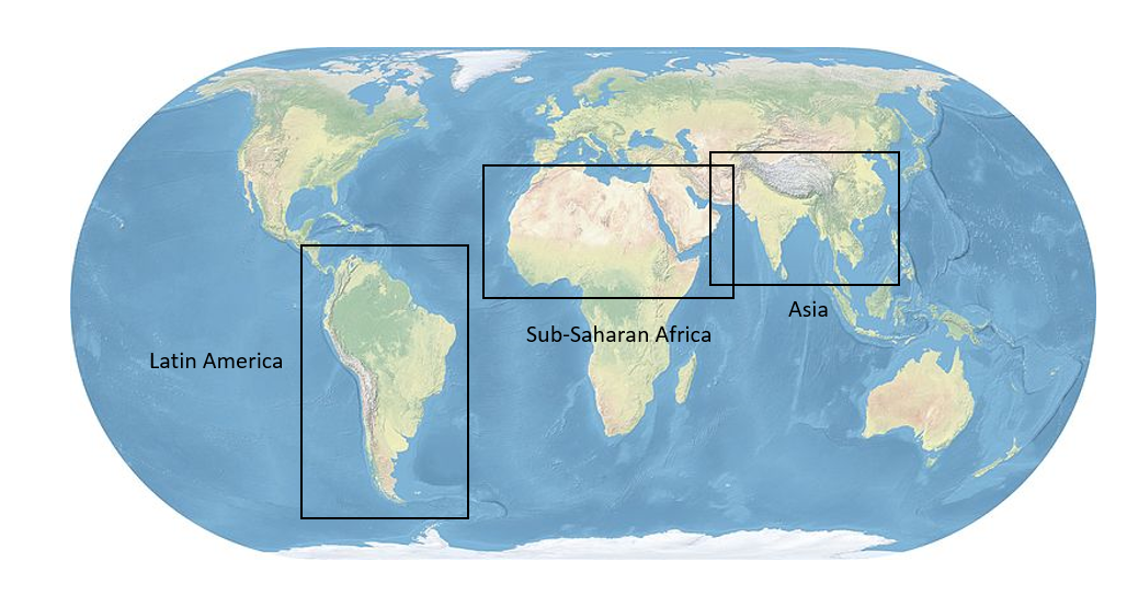 Famine Map