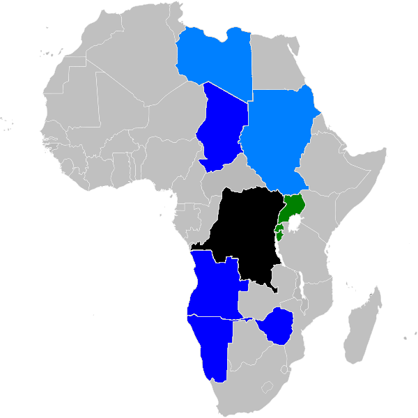 African Famine Areas