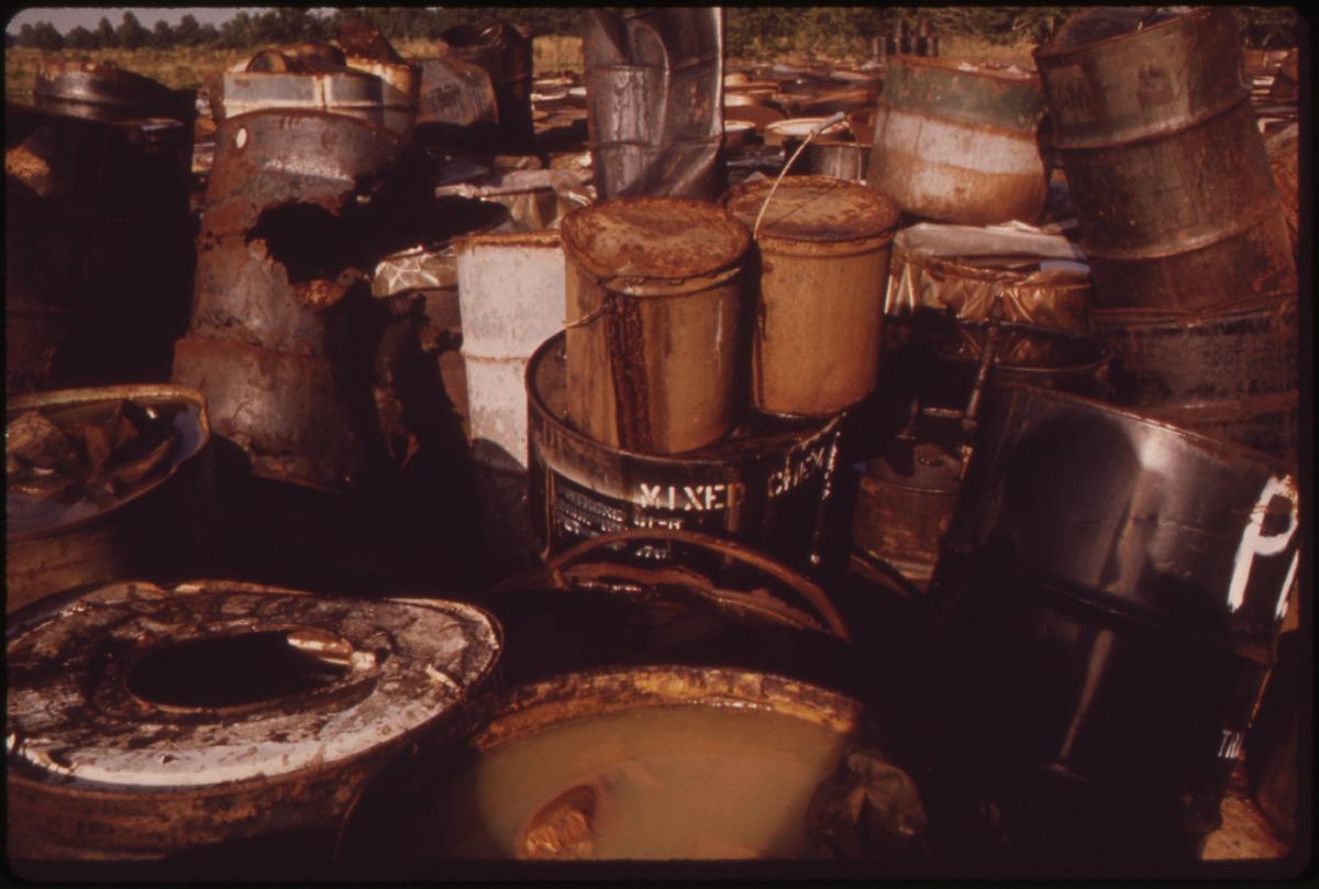 Hazardous Waste Storage Leakages