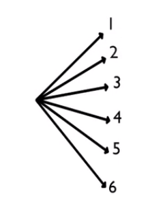 Tree Diagram with Die