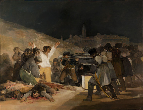 The Third of May, 1808 by Francisco de Goya1814Oil on canvas