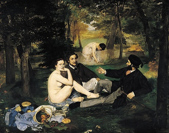 Luncheon in the Grass by Édouard Manet1863Oil on canvas
