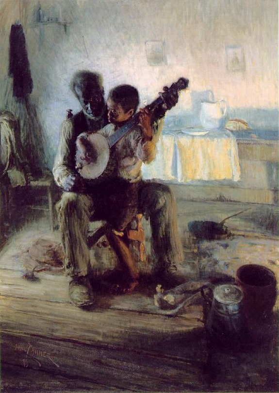 The Banjo Lesson by Henry Ossawa Tanner1893Oil on canvas