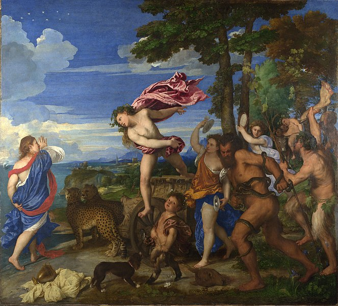Meeting of Bacchus and Ariadne by Titian1520-1523Oil on canvas