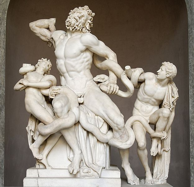 Laocoön and His Sons1st century BCMarble