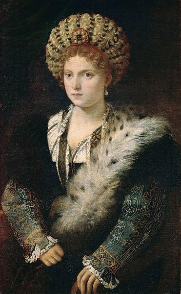 Isabella d'Este by Titian1535Oil on canvas