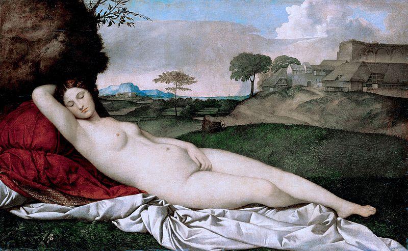 Sleeping Venus by Giorgione1510Oil on canvas