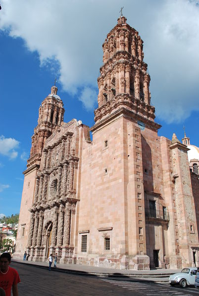 Cathedral of Our Lady of the Assumption1568-1752Baroque ArchitectureZacatecas, Mexico