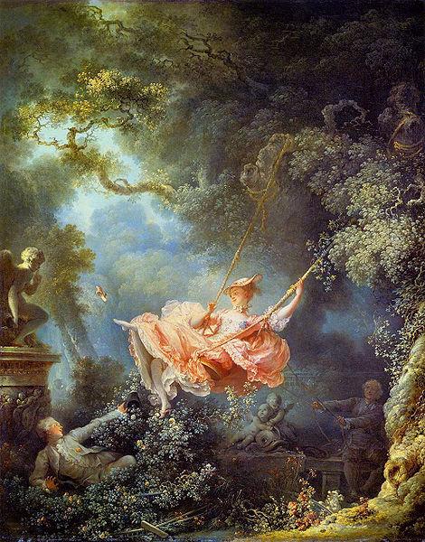 The Swing by Jean-Honoré Fragonard1766Oil on canvas