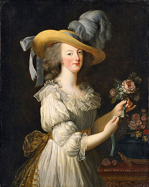 Portrait of Marie Antoinette by Élisabeth Louise Vigée Le Brun1783Oil on canvas