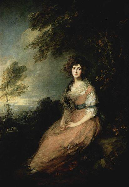 Mrs. Richard Brinsley Sheridan by Thomas Gainsborough1785-1786Oil on canvas