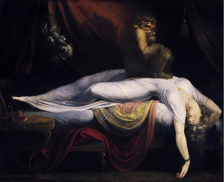The Nightmare by Henry Fuseli1781Oil on canvas