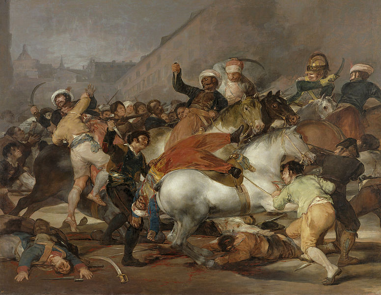 The Second of May, 1808 by Francisco de Goya1814Oil on canvas