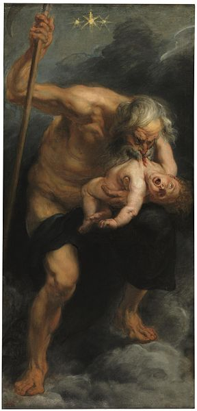 Saturn Devouring His Son by Peter Paul Rubens1636-1638Oil on canvas