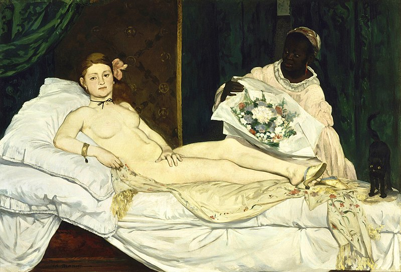 Olympia by Édouard Manet1863Oil on canvas