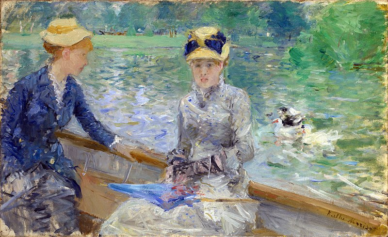 Summer's Day by Berthe Morisot1879Oil on canvas