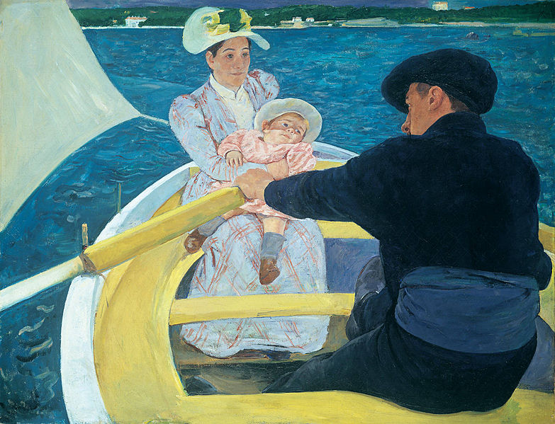 The Boating Party by Mary Cassatt1893-1894Oil on canvas