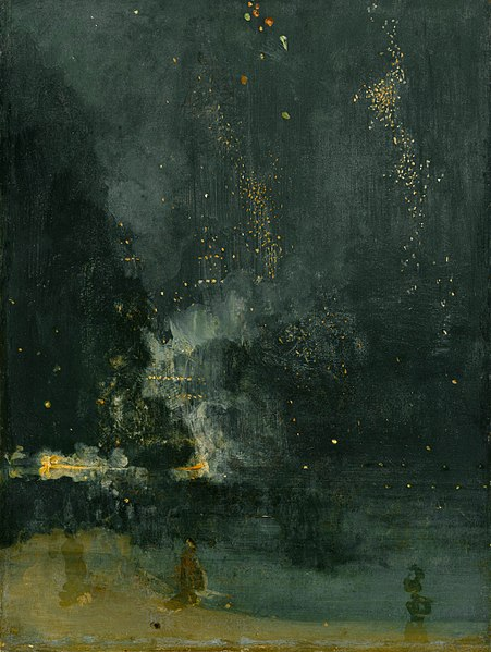 Nocturne in Black and Gold by James Whistler1875Oil on canvas