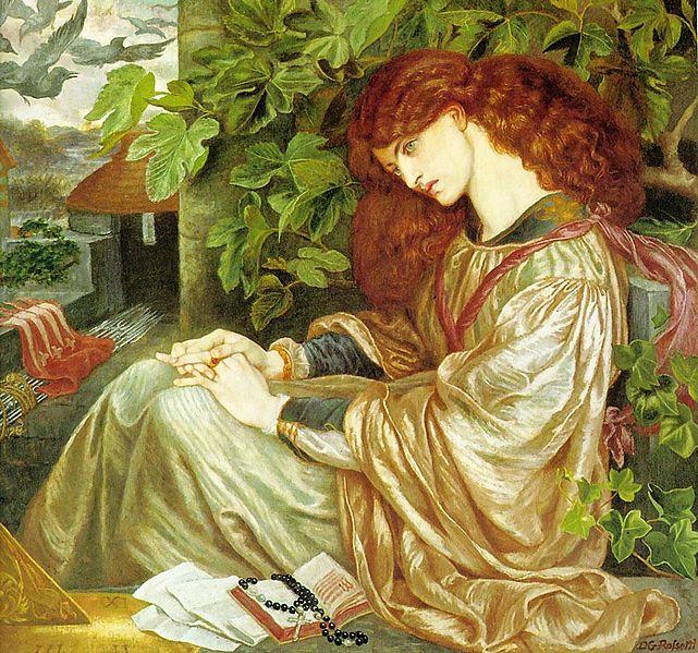 Pia de Tolomei by Dante Gabriel Rossetti1868Oil on canvas