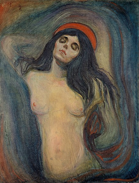 Madonna by Edvard Munch1894Oil on canvas