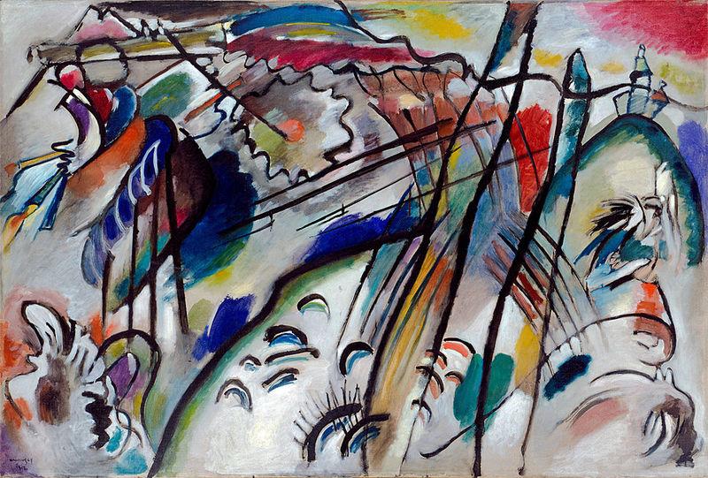 Improvisation 28 (second version) by Wassily Kandinsky1912Oil on canvas