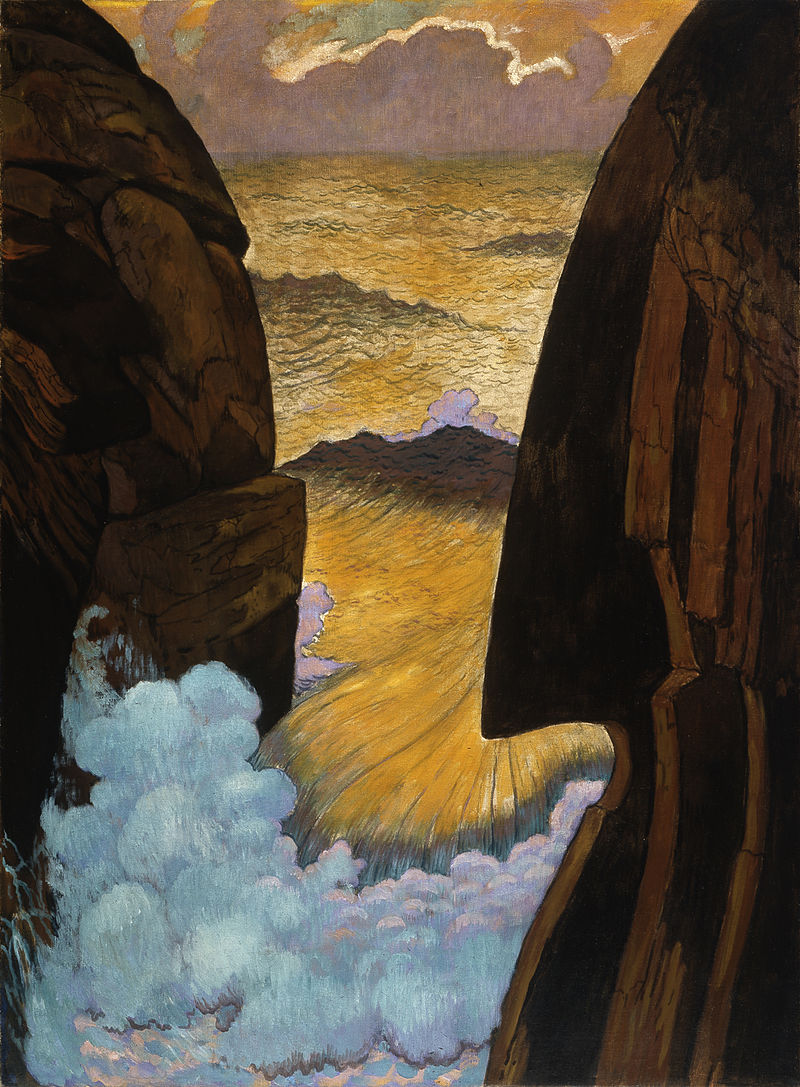 The Green Wave by Georges Lacombe
