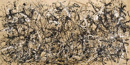 Autumn Rhythm by Jackson Pollock1950Enamel on canvas