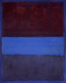 No. 61 (Rust and Blue) by Mark Rothko1953Oil on canvas