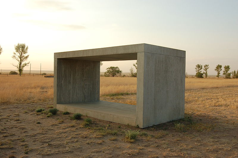 Untitled by Donald Judd1980-1984Concrete