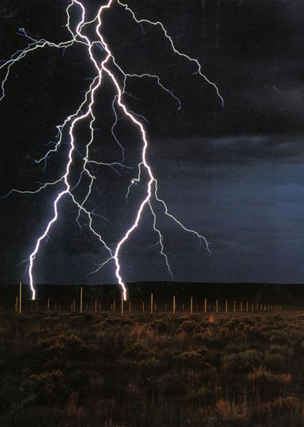 The Lightning Field by Walter De Maria1977Installation