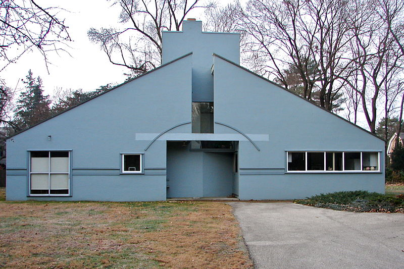Vanna Venturi House by Robert Venturi1964Philadelphia, Pennsylvania
