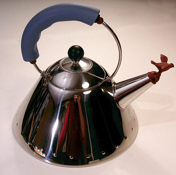 Tea kettle by Michael Graves1984