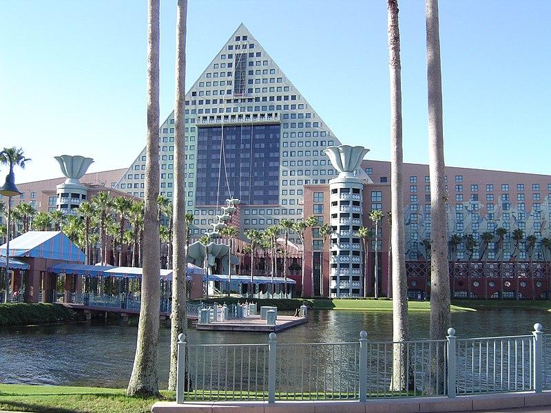 Dolphin Resort at Walt Disney World by Michael Graves1990Orlando, Florida
