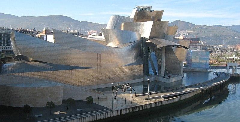 Guggenheim Museum by Frank Gehry1997Bilbao, Spain