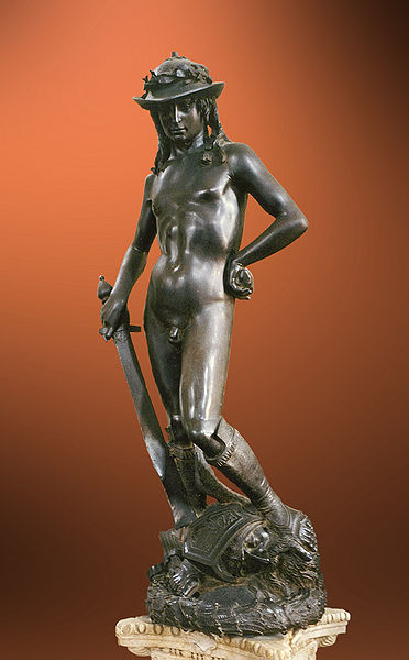 David by Donatello1440 ADBronze