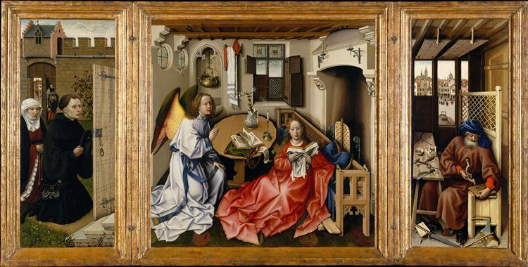 Mérode altarpiece by Robert Campin425-1428Oil on wood