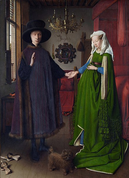 Arnolfini Portrait by Jan van Eyck1432Oil on wood