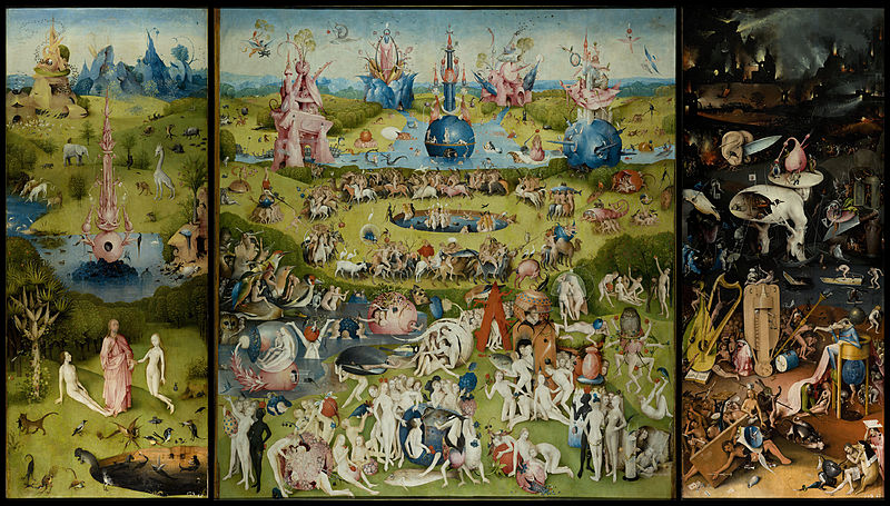 The Garden of Earthly Delights by Hieronymus Bosch1505-1510Oil on wood