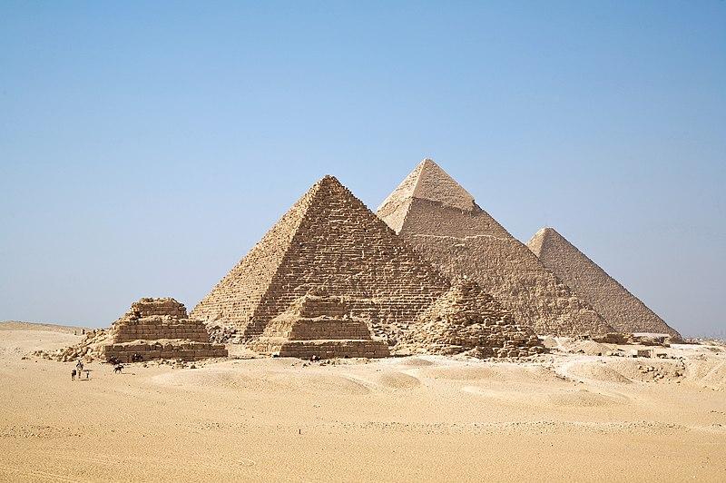 Pyramids of Giza2575-2450 BC (4th Dynasty)True Pyramids