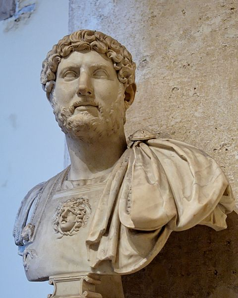 Portrait bust of the Emperor Hadrian2nd century ADMarble